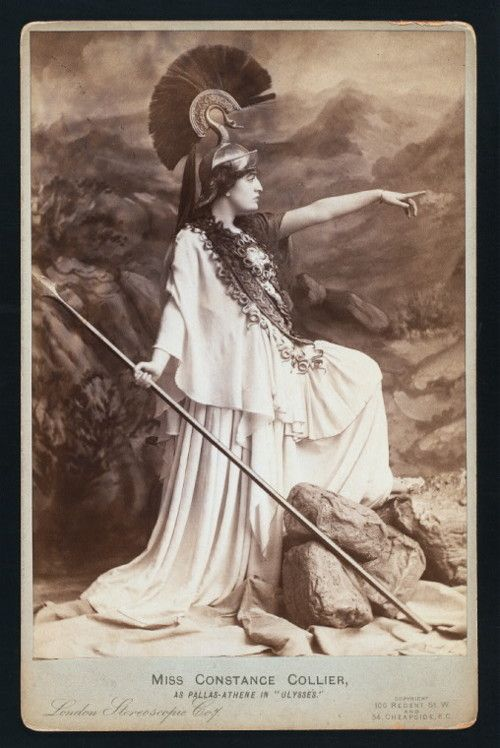 "Constance Collier as Pallas-Athene in ""Ulysses"""