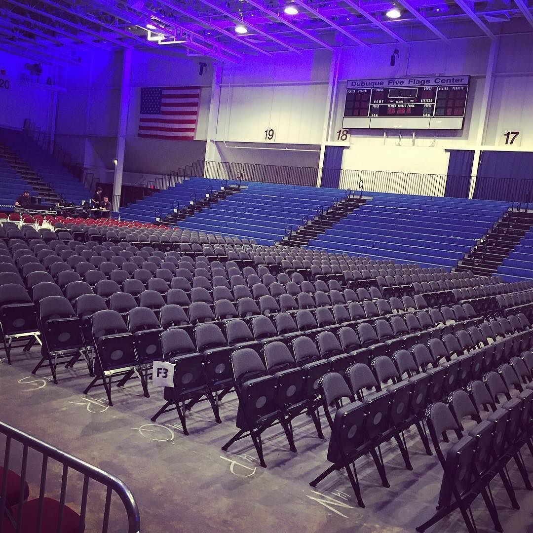 Seats Are Set For Castingcrownsofficial At The Fiveflagscenter Tonight At 7 00pm In Dubuque Iowa Great Seats Still A Madison Wisconsin Iowa City Instagram
