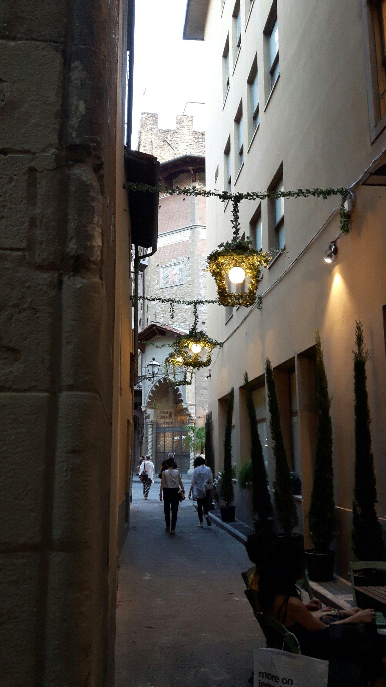 Per le strade di Firenze!