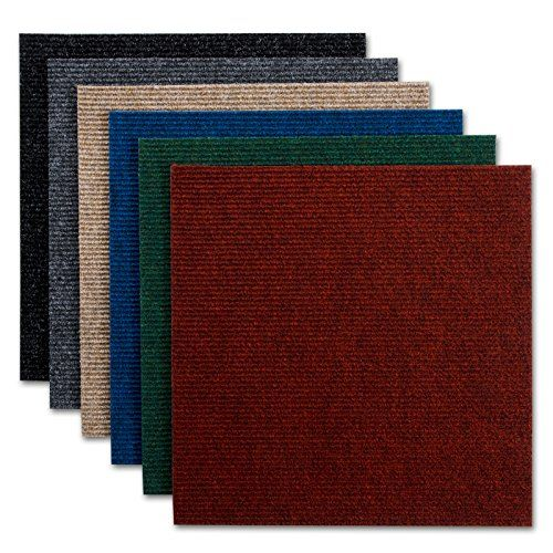 Casa Pura Commercial Carpet Tiles Merci Black M Pack Of - Carrelage salle de bain et tapis casa pura