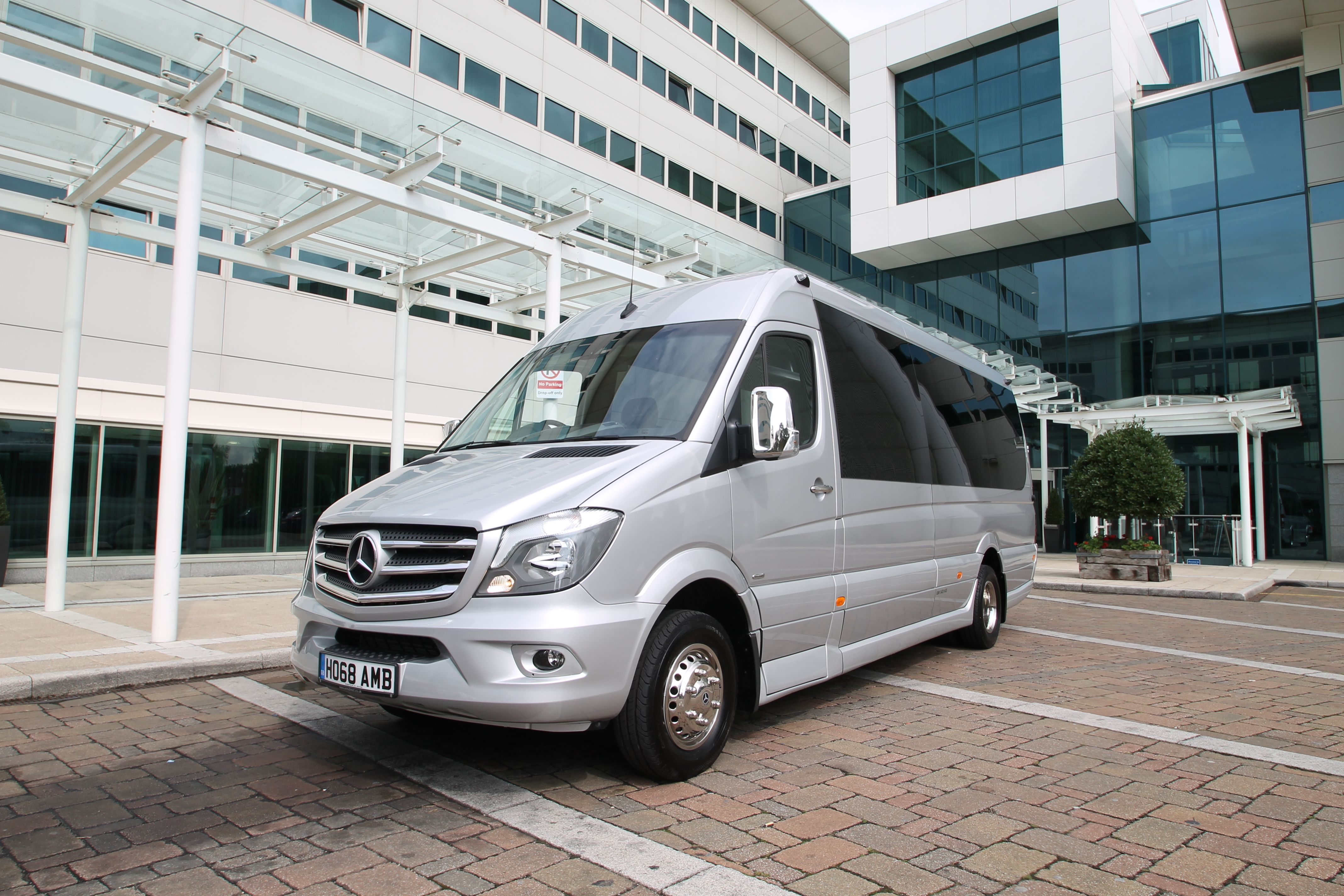 Ashford Minibuses - NEW Euro 6 Sprinter 16 Seater EVM