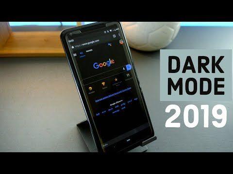 Extreme dark mode for google apps 2019 YouTube Google