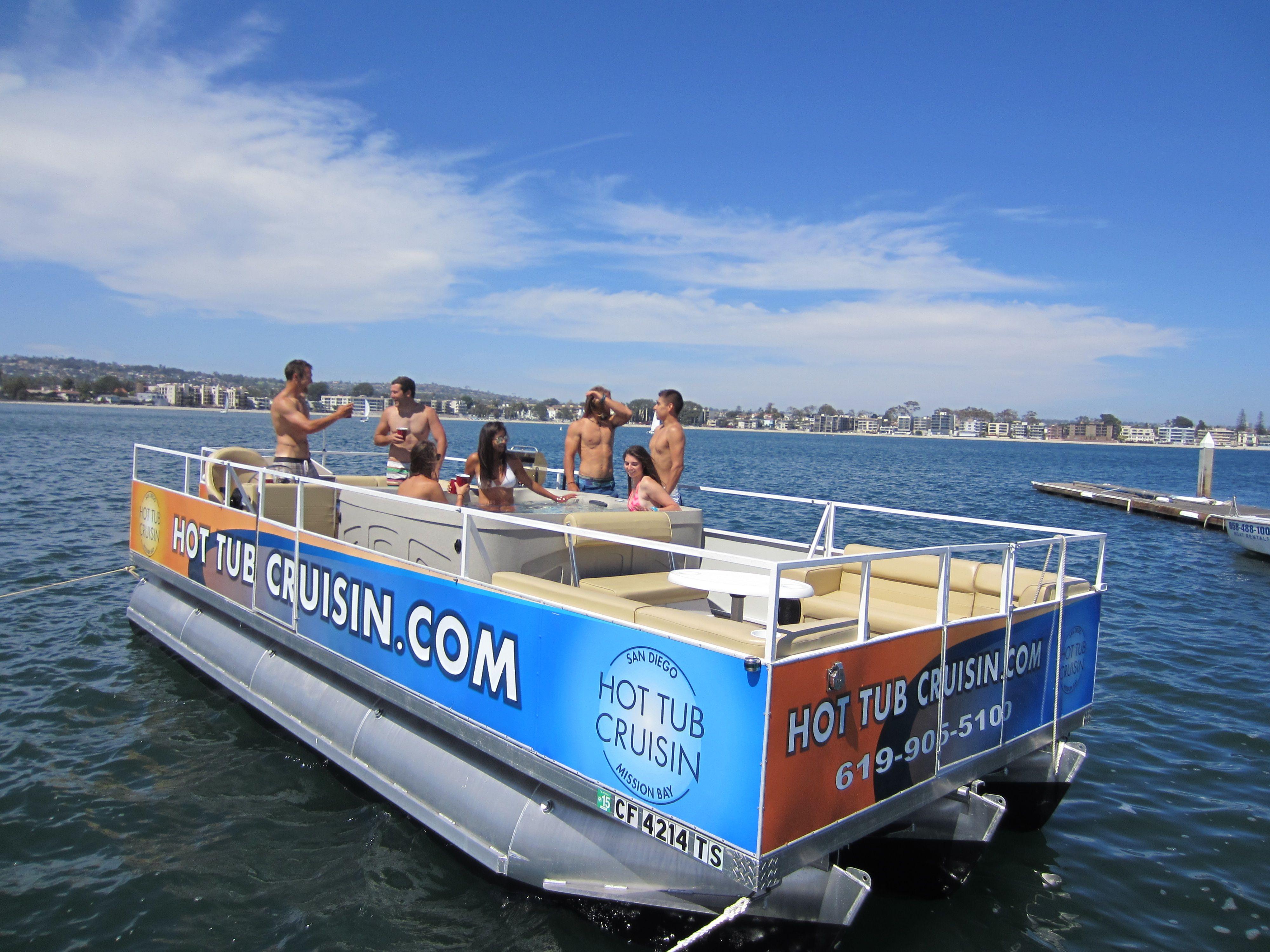 399 For Three Hour Hot Tub Cruisin Boat Rental Cruisin Boat Rental Hot Tub