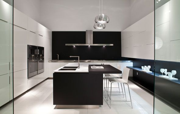 Poliform Kitchen Design. Modern kitchen inspiration Poliform Unveils Revamped L A  Showroom Kitchens and