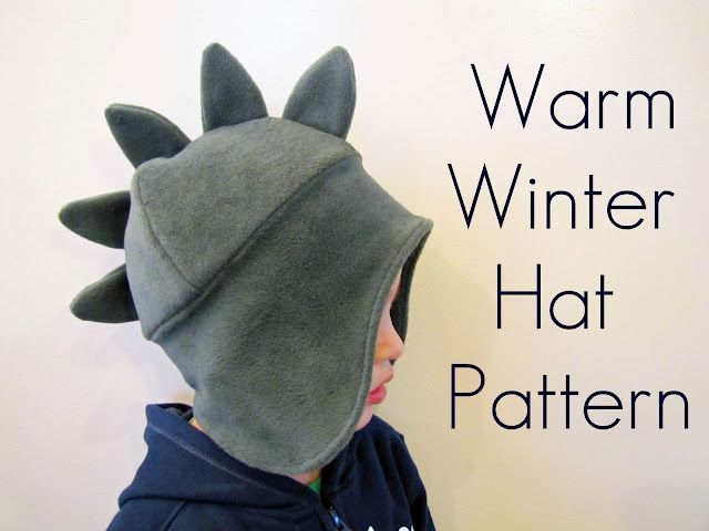 Warm Winter Hat tutorial by From an Igloo #sew #kids #diy | GRATIS ...