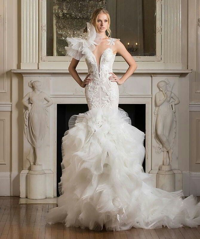 Pin by Miranda Johnson on Wedding dress   Pnina tornai ...