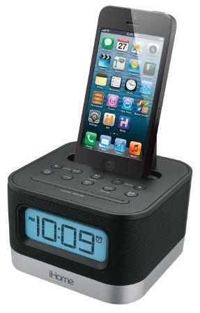Ihome Ipl8bn Stereo Fm Clock Radio With