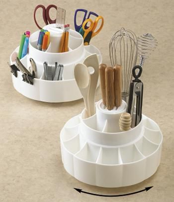 Utensil Carousel For Kitchen Or Craft Room This Hard To Find Organizer Is 7 At Signaturealog