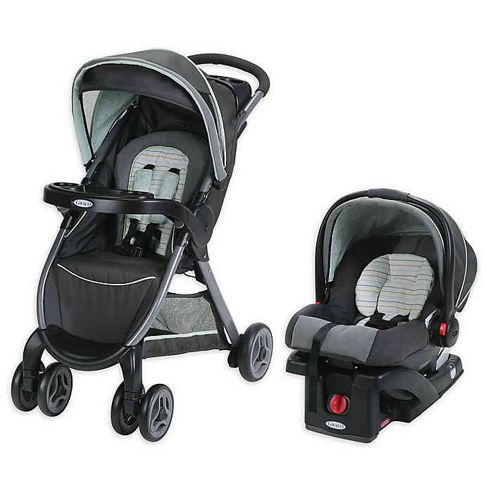 Graco® FastAction™ Fold Click Connect™ Travel System in