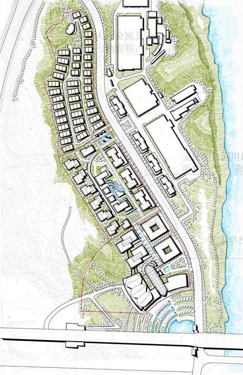Landscape Master Plan Mix Use Development Master Plan River Side Development Hill Side Residential Master Plan Landscape Design Plans Concept Architecture