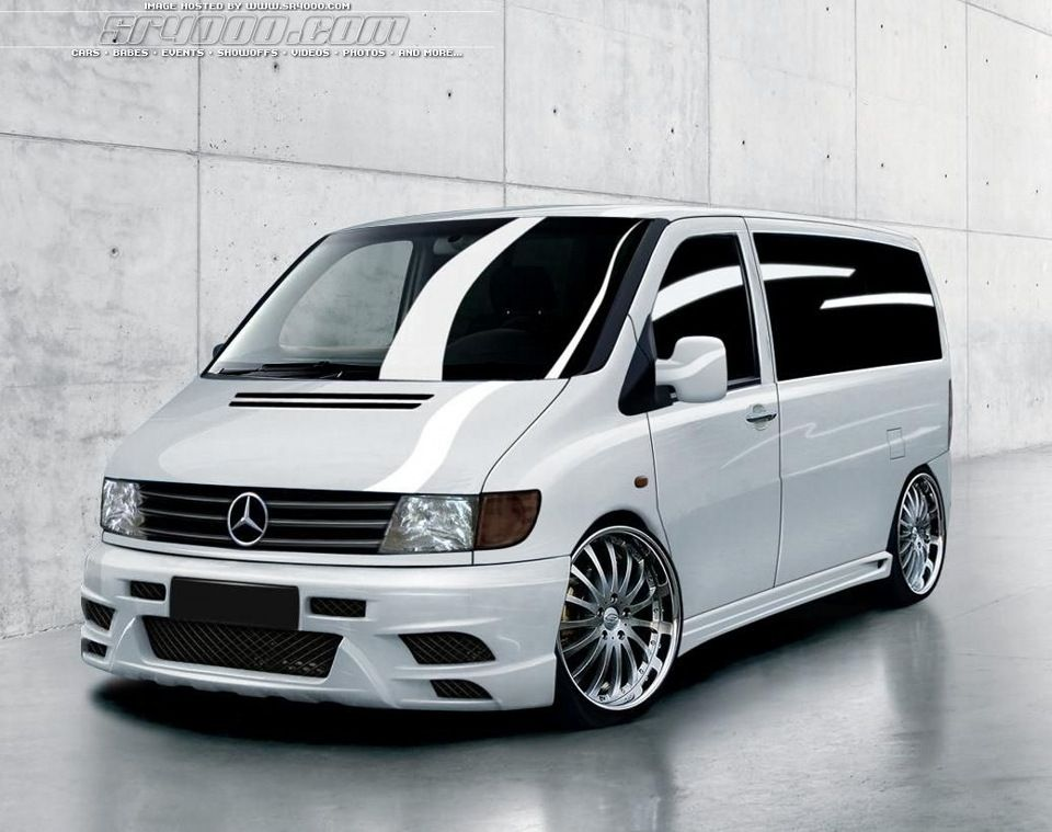 mercedes v class vito mk1 not a vw but i love the look. Black Bedroom Furniture Sets. Home Design Ideas