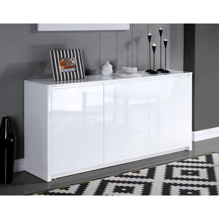 19999\u20ac ❤ Les #Buffets - POLARIS #Buffet #design 160cm muni de 3 - conforama meuble bas cuisine