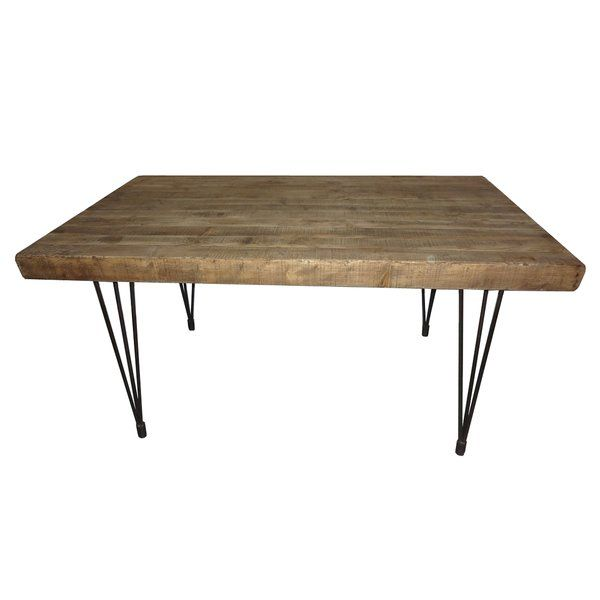 Okemah Solid Wood Dining Table Solid Wood Dining Table Live