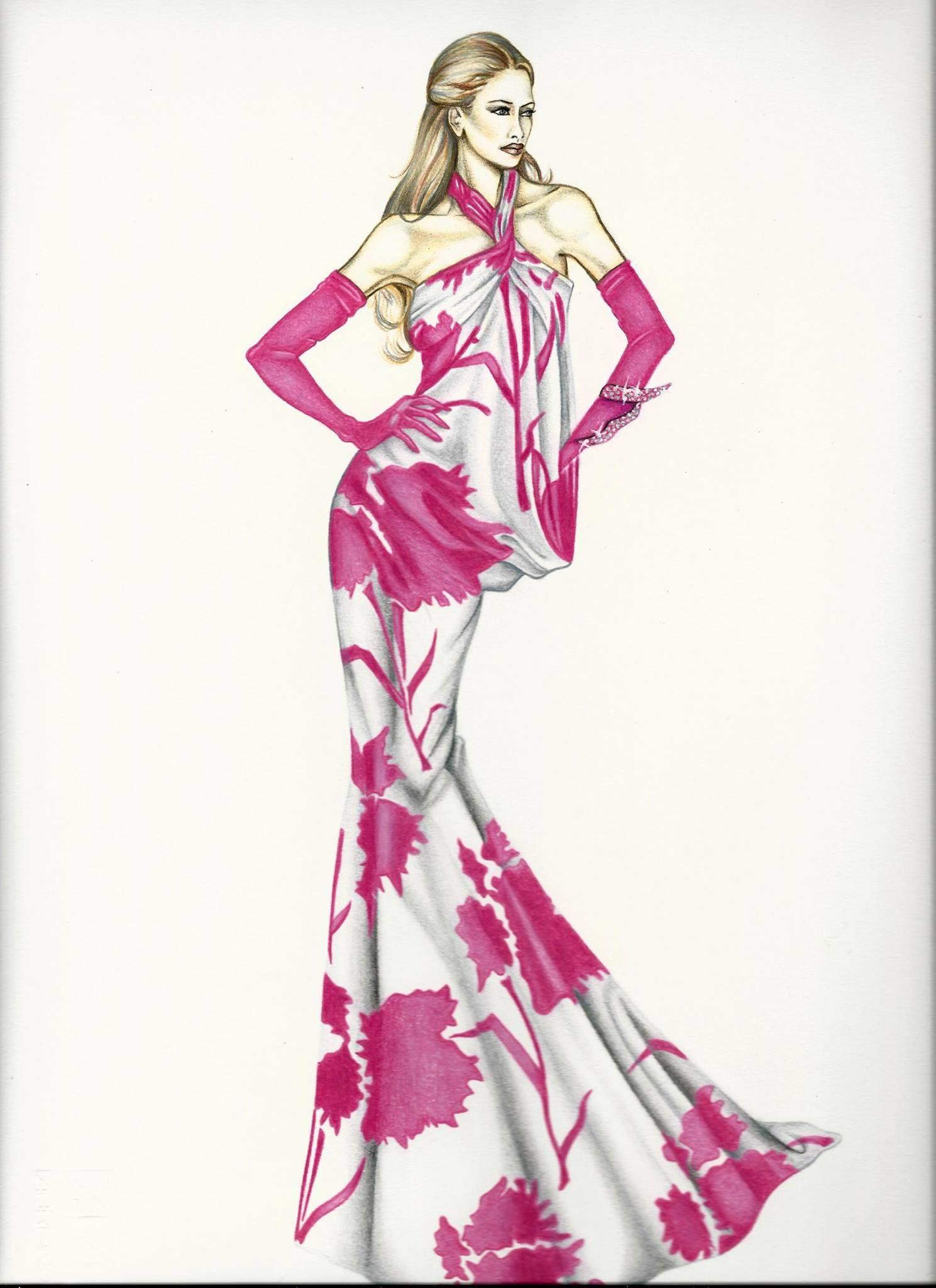 Pin de Rosa Cuevas en ilustración moda | Pinterest | Bocetos de ...