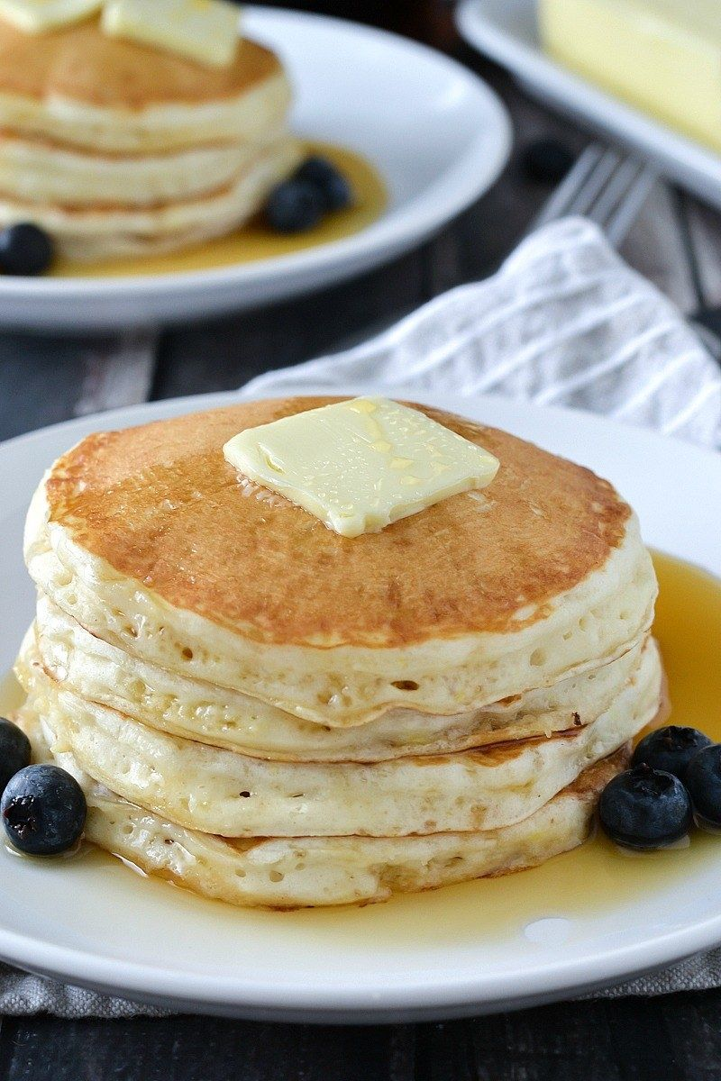Fluffy Homemade Pancakes You Can Make For Just About Any Meal Buttermilk Pancakes Buttermilk Pancakes Fluffy Homemade Pancakes