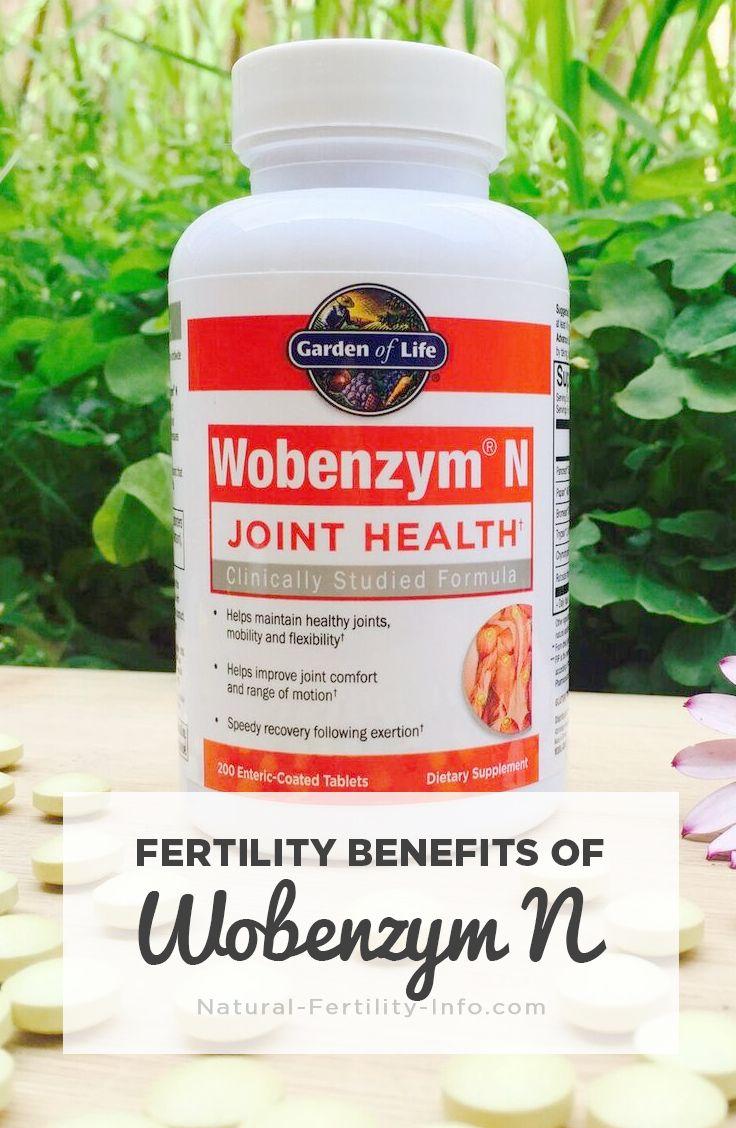 Fertility Benefits Of Wobenzym N Fertility Products Pinterest