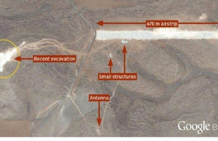 Hizbullah airstrip revealed