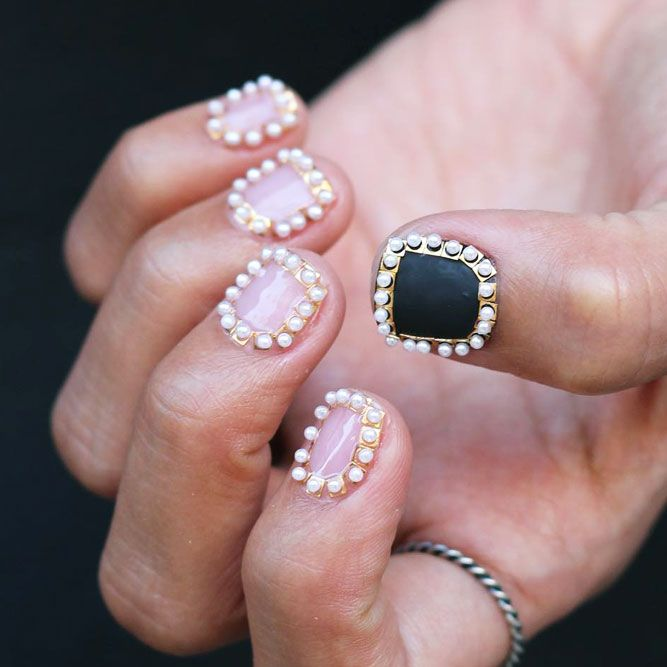 27 Ideas of Luxury Nails To Really Dazzle | Nail studs, Luxury nails ...