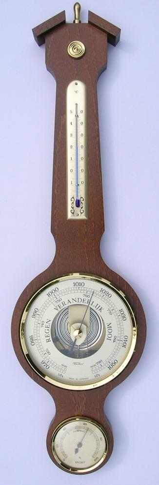 WD Noten aneroïde barometer