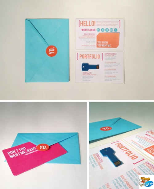Creatieve Curricula VitaeResume      Visit Cards