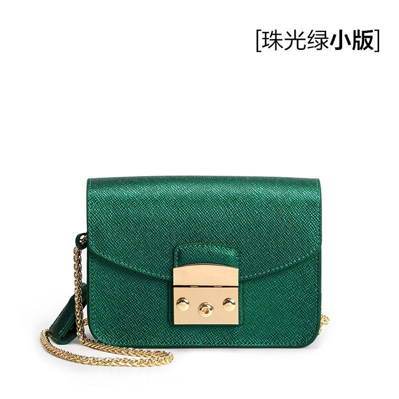 Chain bag 2017 new wave of wild Korean version of the same with the leather mini-shoulder Messenger bag