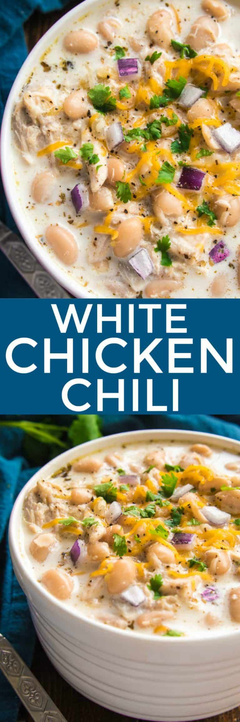 Creamy White Chicken Chili Recipe White Chili Chicken Recipe Creamy White Chicken Chili Recipe Creamy White Chicken Chili
