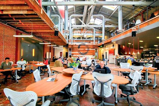 Impact Hub Oakland - #coworking space in Oakland, CA.   London coffee shop, Coworking space ...
