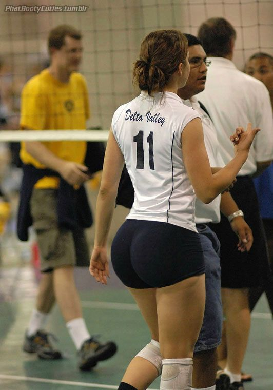 Female volleyball players asses-7134