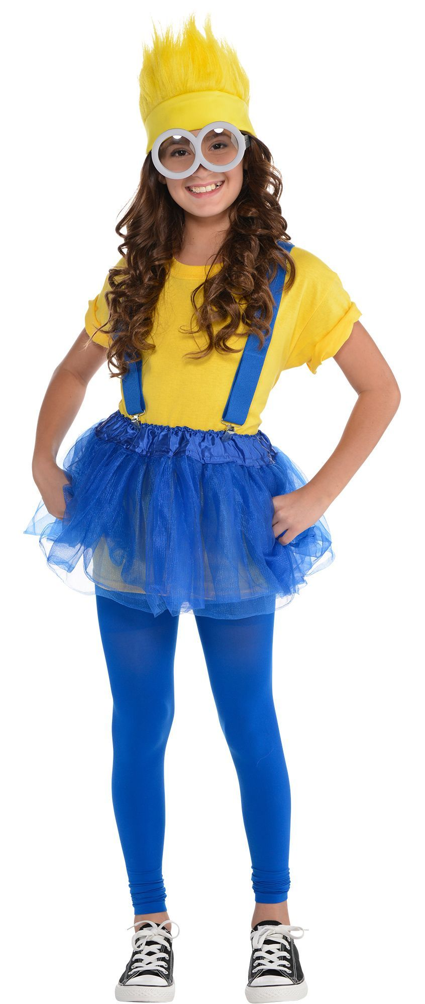 Party City. Costume pieces sold separately for Minions