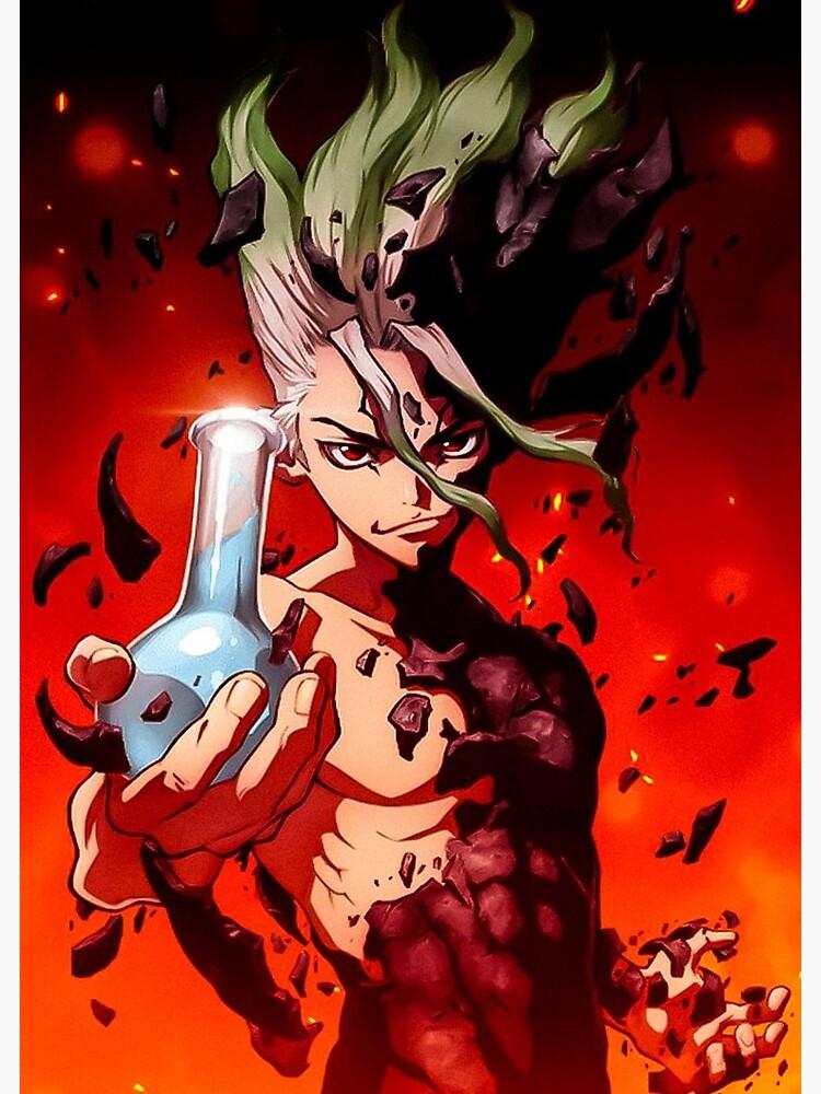 Dr. Stone Senku Poster Otaku anime, Anime, Slayer anime