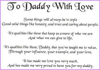 fathers day poem from daughter to dad father s day poems and