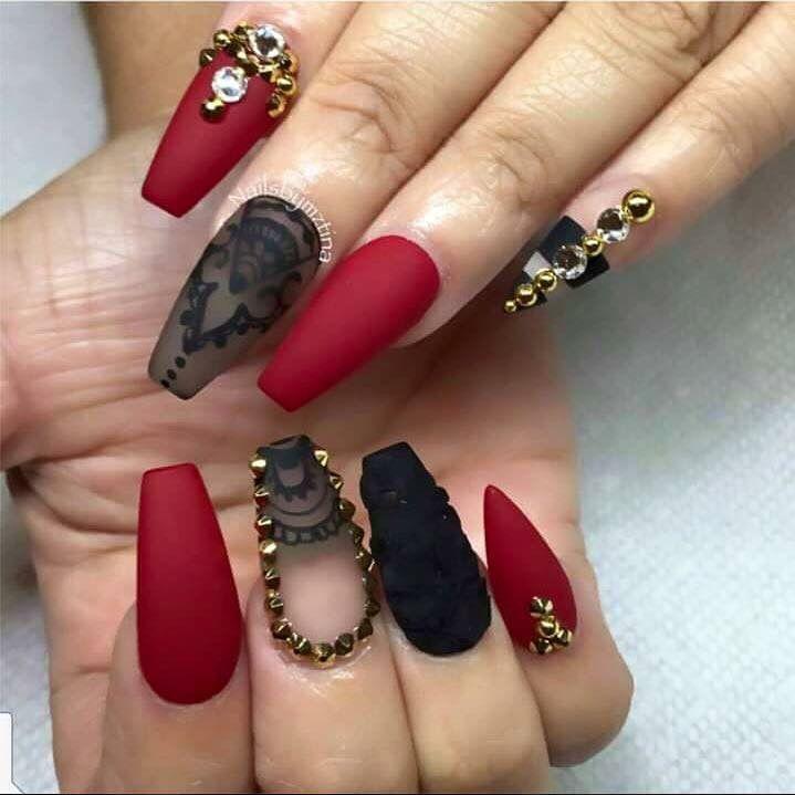 25 Matte Nail Designs You\'ll Want to Copy this Fall | Nail nail ...