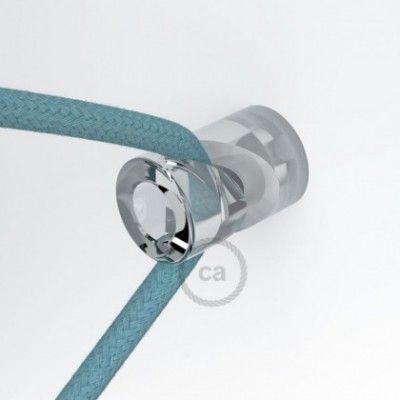 Textilkabel Le wand und deckenpins v transparent für textilkabel licht