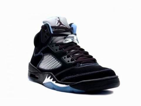 Black · Air Jordan 5 (V) Retro LS Black/Blue/White