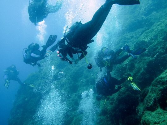 Visit Greece   Diving in Greece #sports #watersports #sea #diving #summer