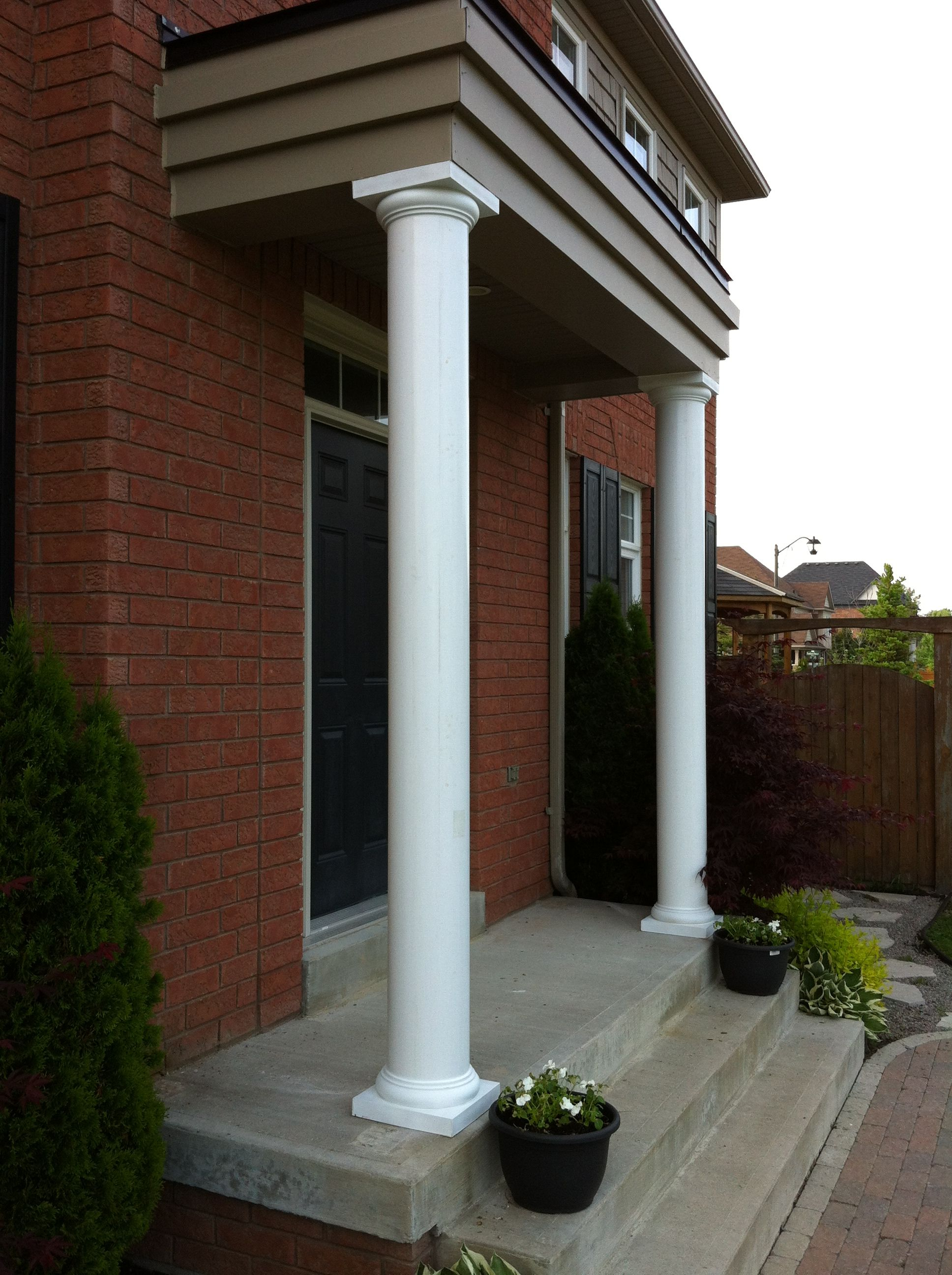 Fiberglass Round 10 Quot Columns Maintenance Free By Aimg