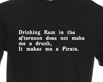 Drinking Rum In The Afternoon Doesn't Make Me A Drunk It