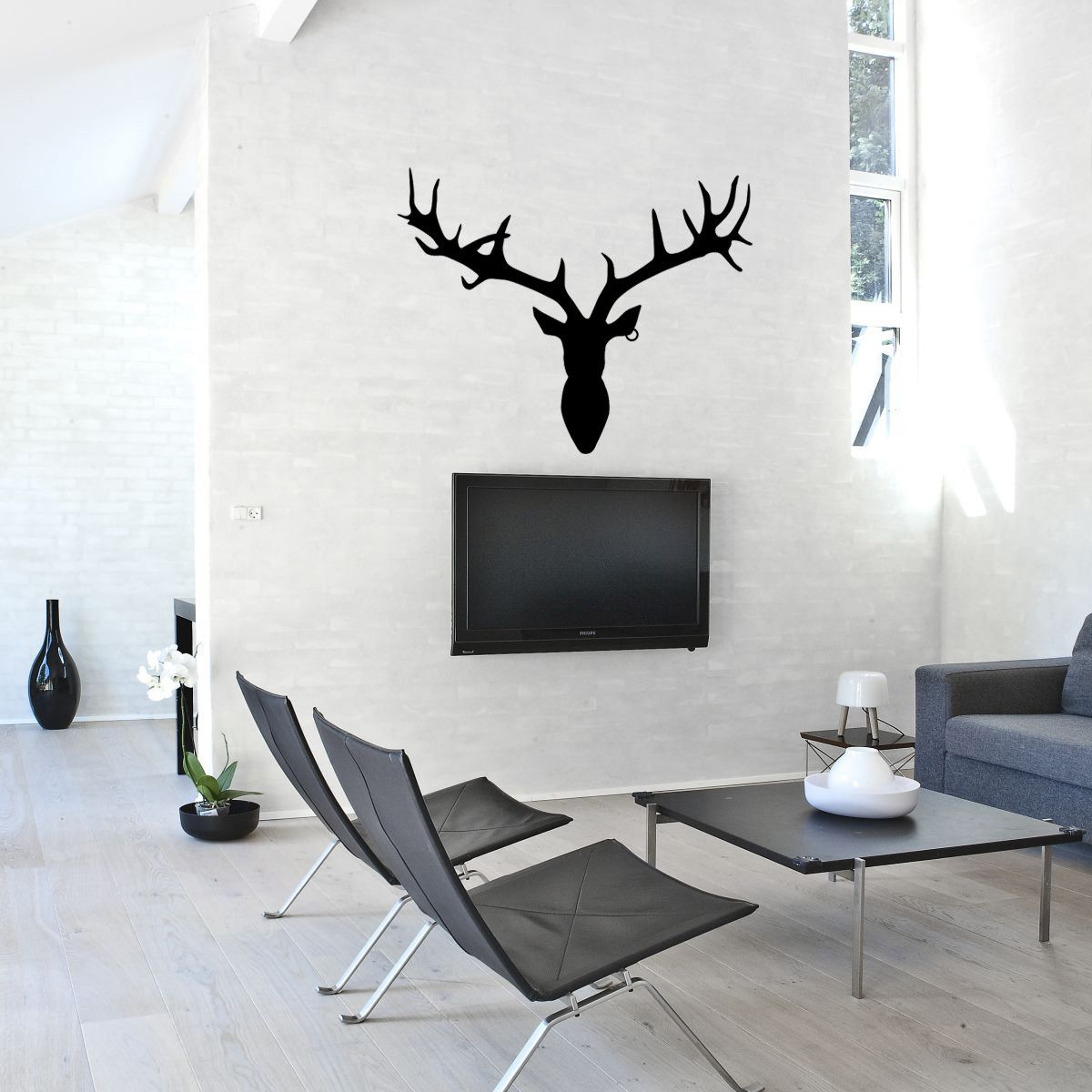 Fireplace Decal Deer Head Wall Decal 49x39 By Labyrinth Barcelona 28