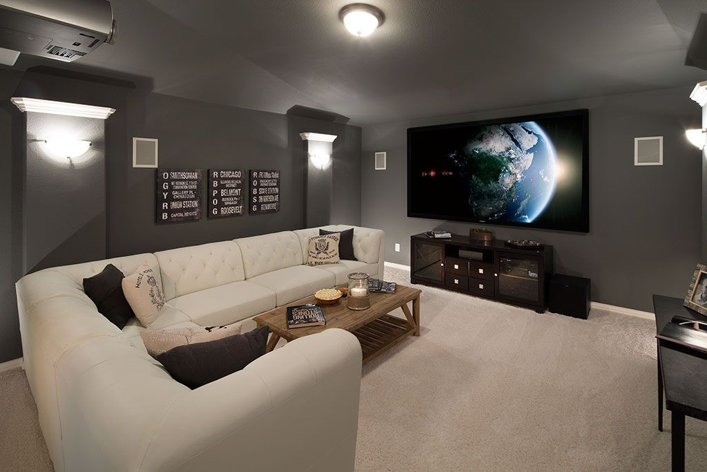 Highland Homes Woodbridge Media Room Sachse Tx Plan