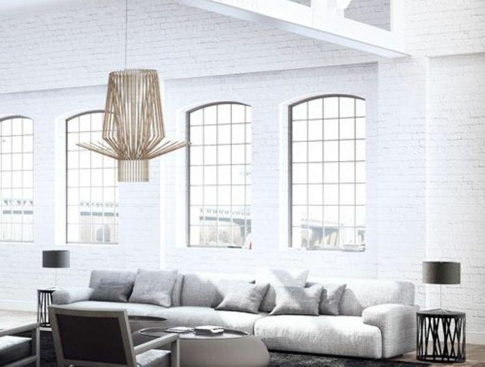 Mille et une idées pour le salon style industriel en 44 photos!   Salon style industriel, Idee ...