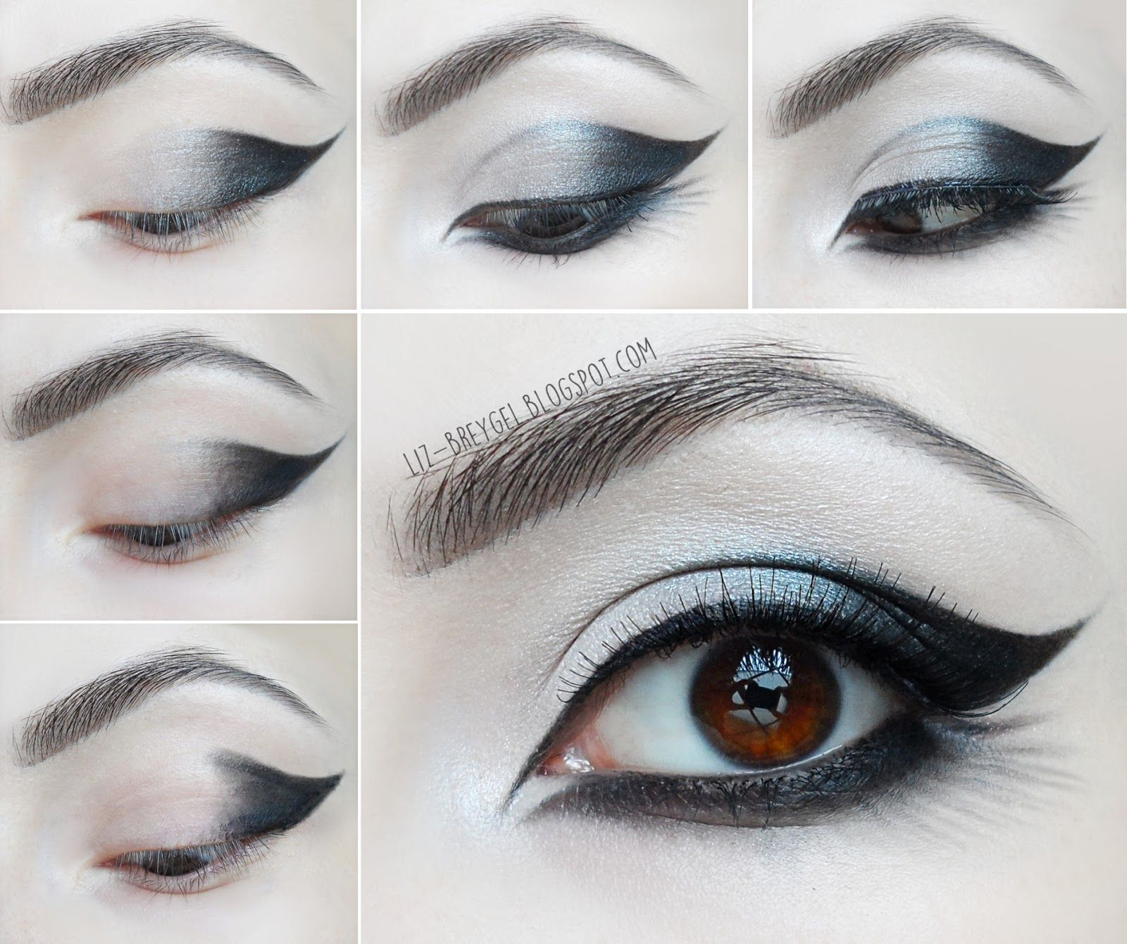Goth Eye Makeup Step By Step Tutorial (With images