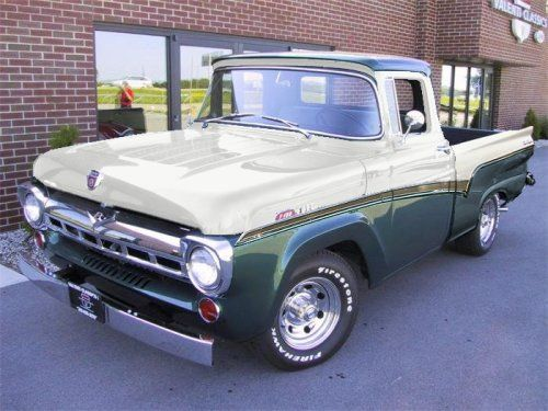 Ford Truck Enthusiasts >> Rare 57 Ford Truck Check It Out Ford Truck Enthusiasts Forums