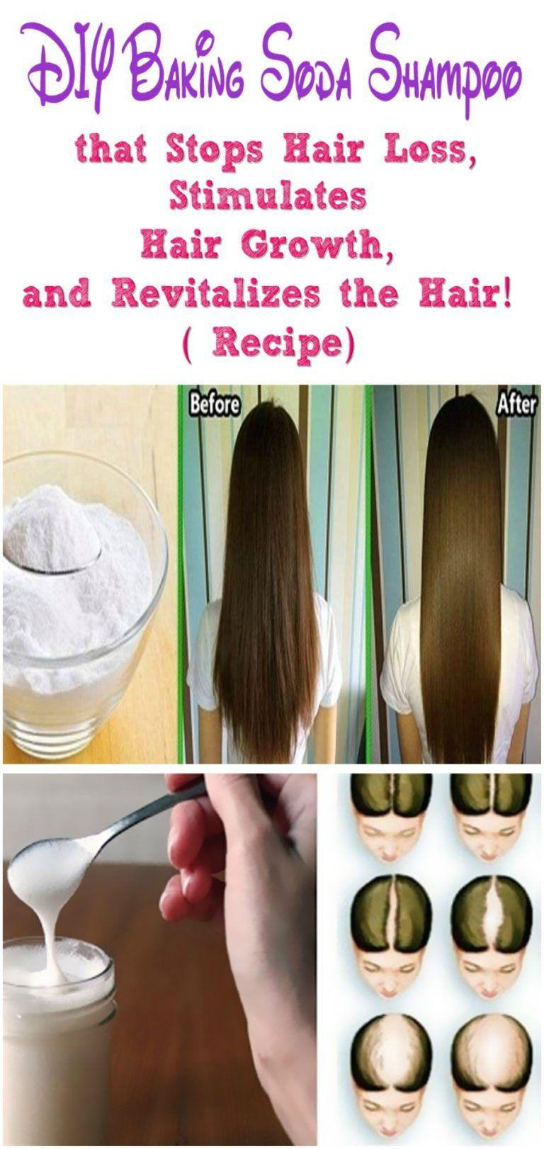 Diy baking soda shampoo that stops hair loss stimulates