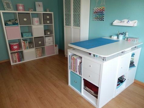 n hzimmer n htisch zuschneidetisch ikea greengate magnettafel n hk stchen stoffbild. Black Bedroom Furniture Sets. Home Design Ideas