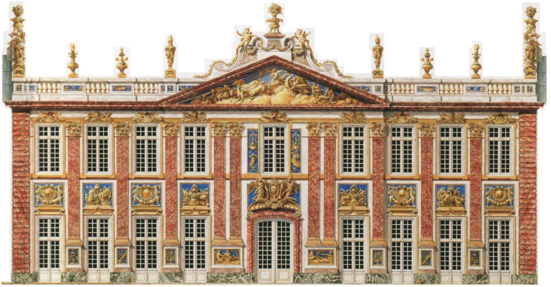 Château De Marly   Dessin architecture, L'architecture française ...