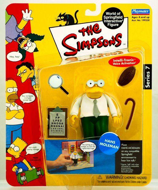 amazon com the simpsons series 7 action figure hans moleman toys rh pinterest com