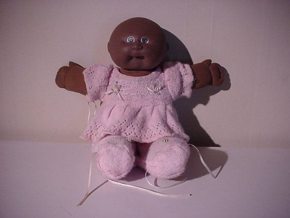 1985 Xavier Roberts Cabbage Patch Doll Bald By Fullcircleantiques 28 00 Price Reduced To 22 40 Cabbage Patch Dolls Xavier Roberts Cabbage Patch