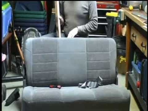 Installing Headrests In Bench Seat Of Ford Excursion Ford Excursion Vehicle Care Chevy Express