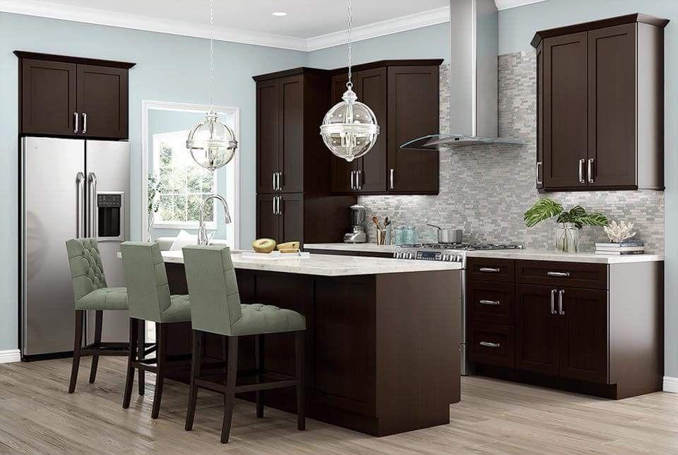 pin by c r s on interior design ideas espresso kitchen cabinets dark brown kitchen cabinets on r kitchen cabinets id=81880