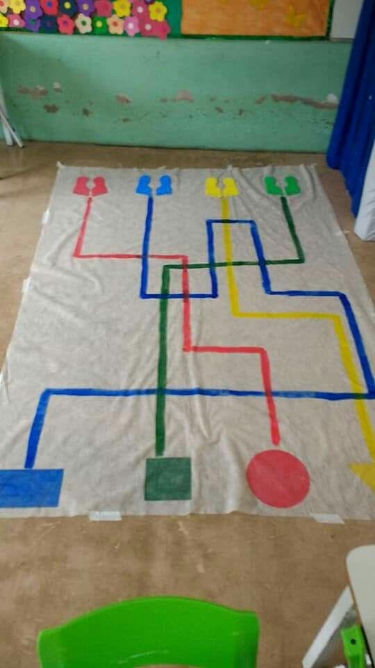 Circuito Juegos Para Niños : Dinamicas infantil actividades mates actividades para niños
